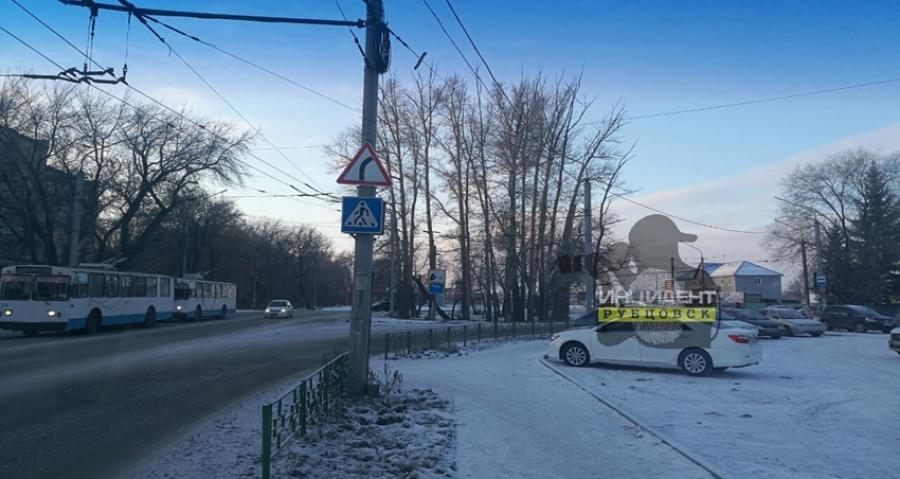 """Вниманию водителей-рубцовчан: """"кольца"""" на РМЗ больше нет!"""